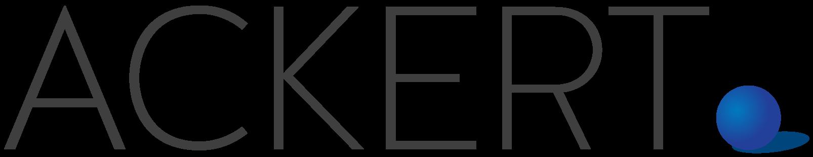 Ackert logo header