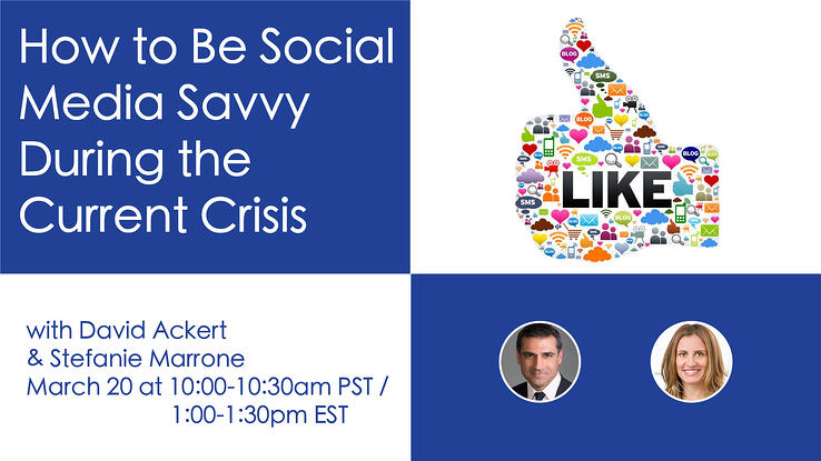 How to Be Social Media Savvy During the Current Crisis