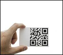 business-card-with-QR-code