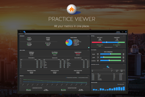 Practice Viewer with logo