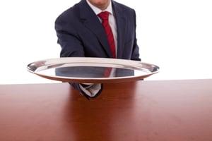 man-holding-silver-platter