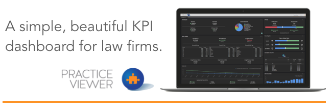 A simple, beautiful KPI dashboard for law firms: Practice Viewer